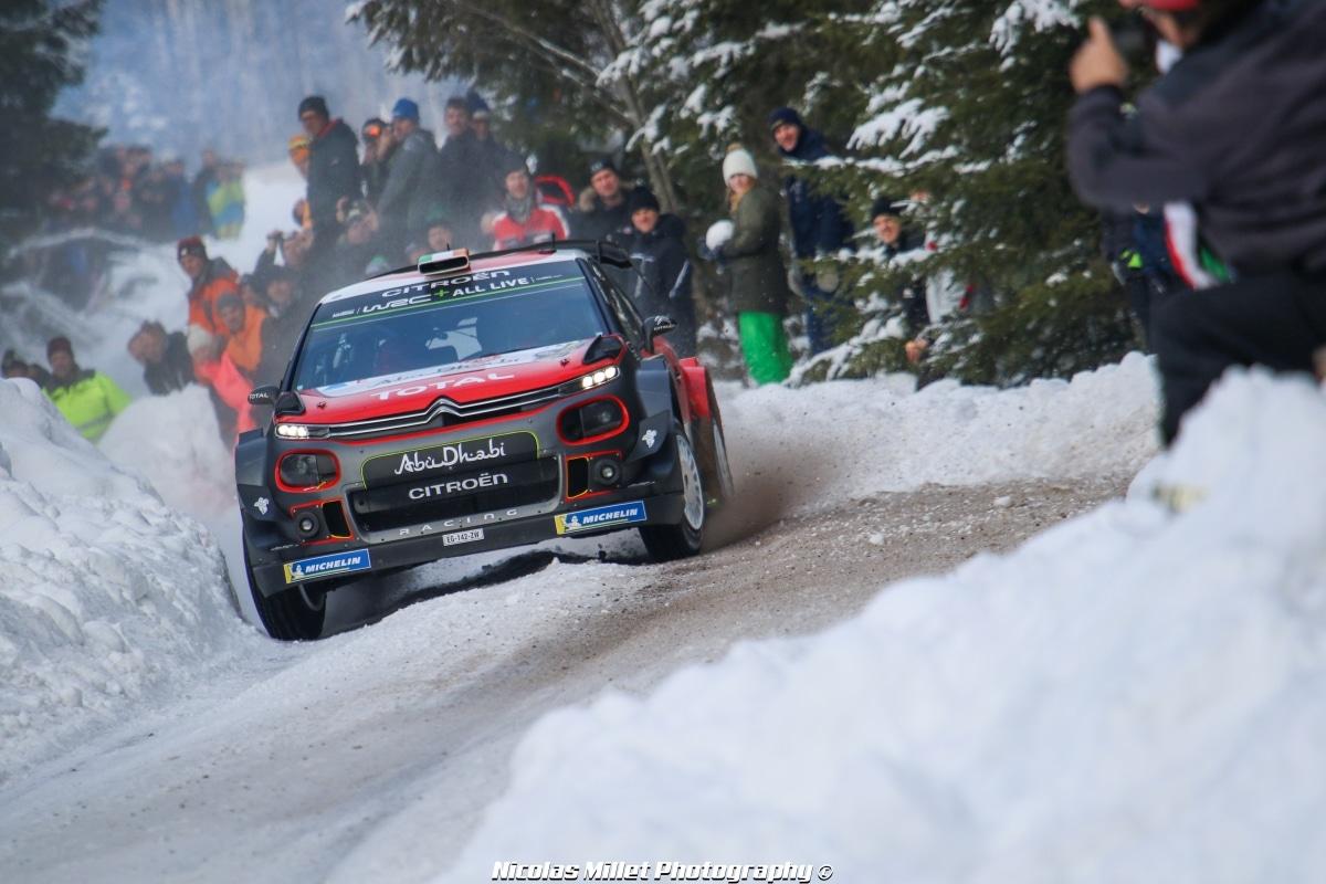 Rallye de Suède 2018 - Action - Craig Breen