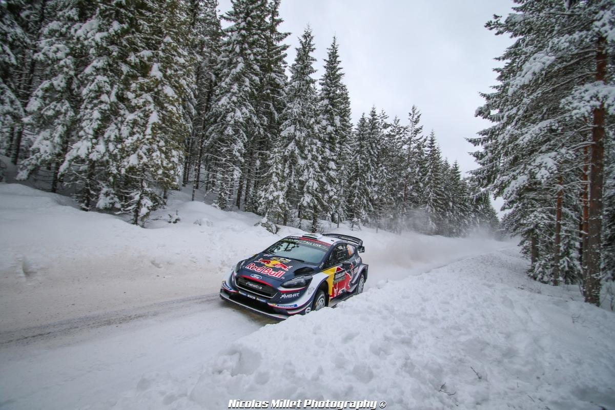 Rallye de Suède 2018 - Action - Elfyn Evans