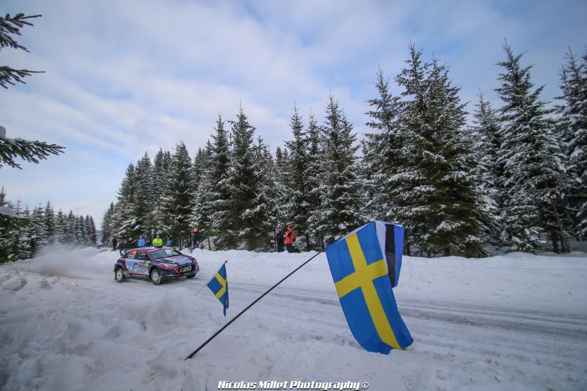 Rallye de Suède 2018 - Action - Jari Huttunen