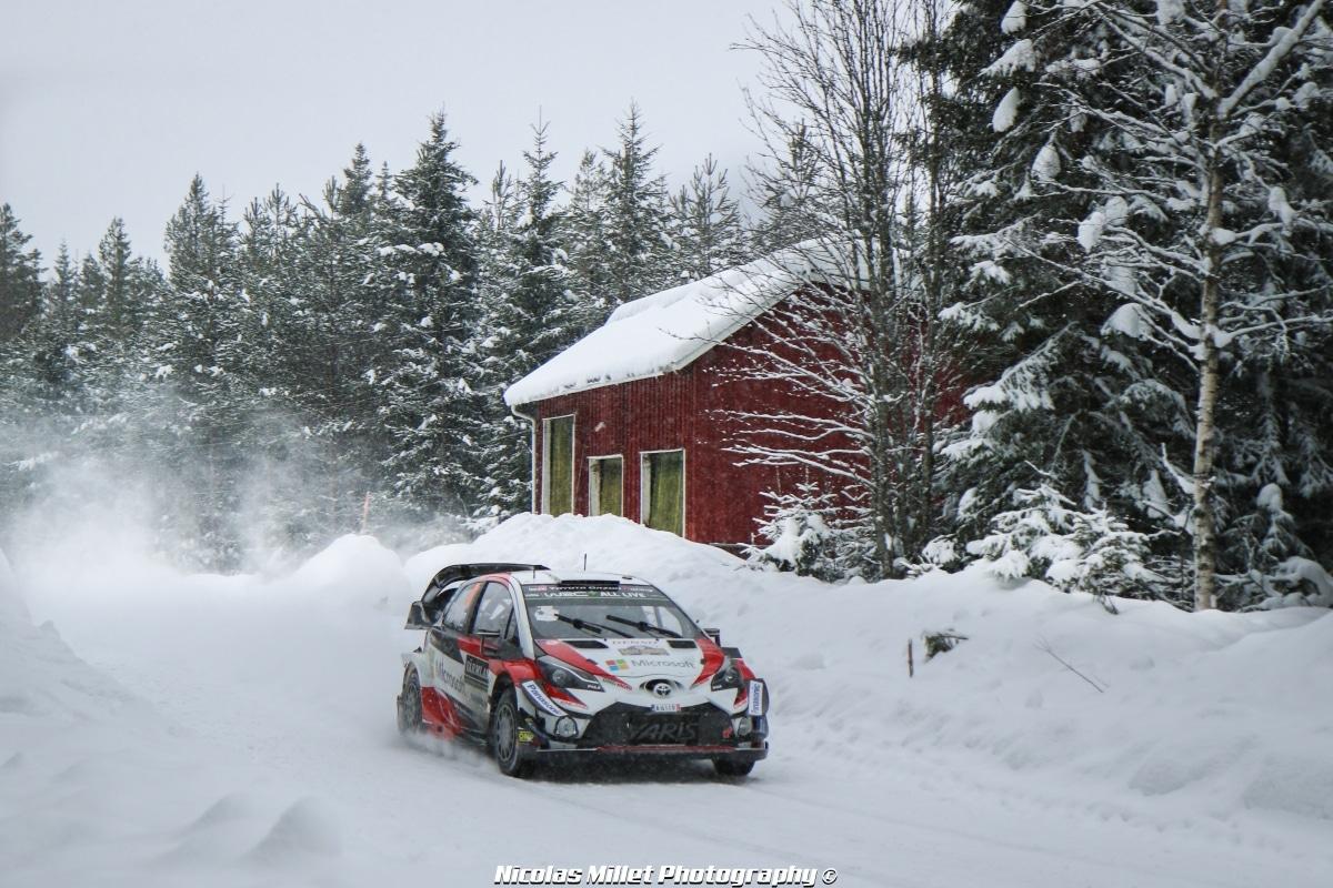 Rallye de Suède 2018 - Action - Ott Tanak