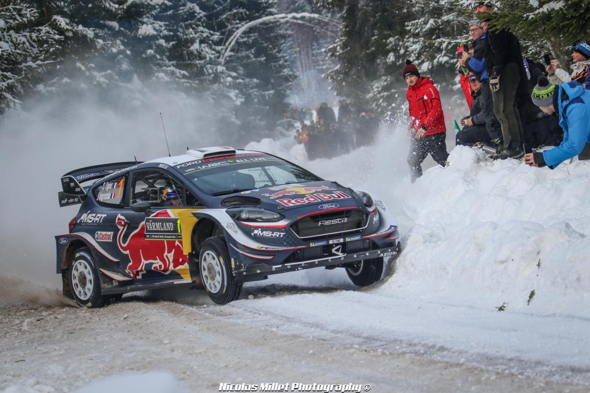 Rallye de Suède 2018 - Action - Sébastien Ogier