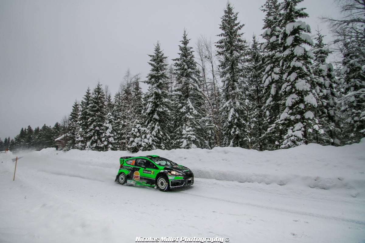 Rallye de Suède 2018 - Action - Yaazed Al Rahji