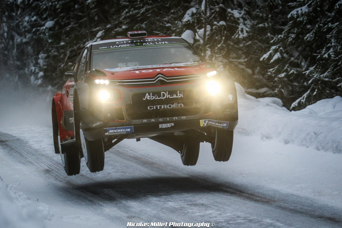 Rallye de Suède 2018 - Action - Kris Meeke