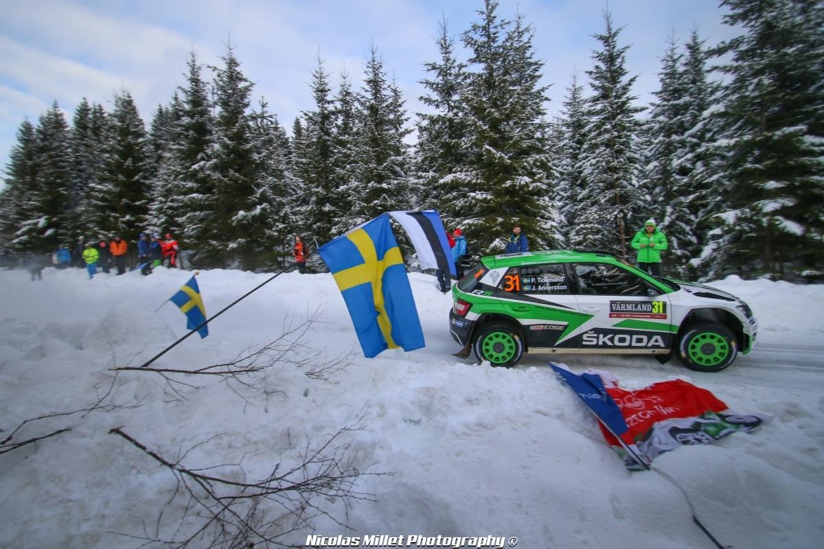 Rallye de Suède 2018 - Action - Pontus Tidemand