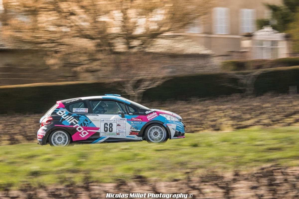 Rallye des Vignes de Regnié 2018 - Action - Clément Bully - BullFrog GP