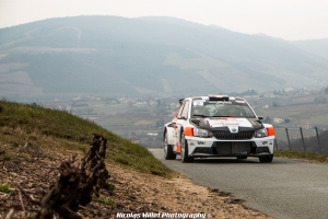 Rallye des Vignes de Regnié 2018 - Action - Pierre Antoine Rampon