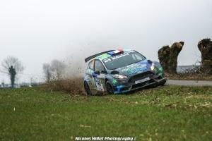 Rallye du Touquet 2018 - Action - Jérémy Ancian