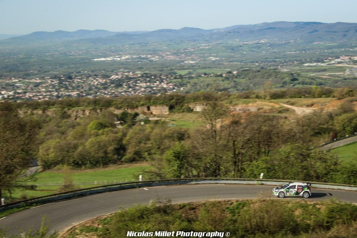 Rallye Lyon-Charbonnières-Rhône 2018 - Action - Bryan Bouffier
