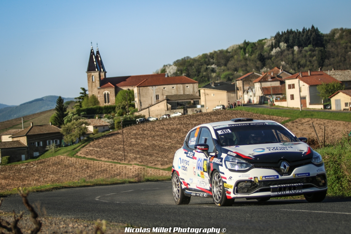 Rallye Lyon-Charbonnières-Rhône 2018 - Action - Florian Bernardi