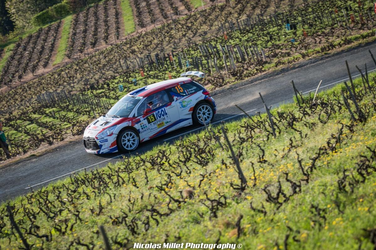Rallye Lyon-Charbonnières-Rhône 2018 - Action - Hugo Margaillan