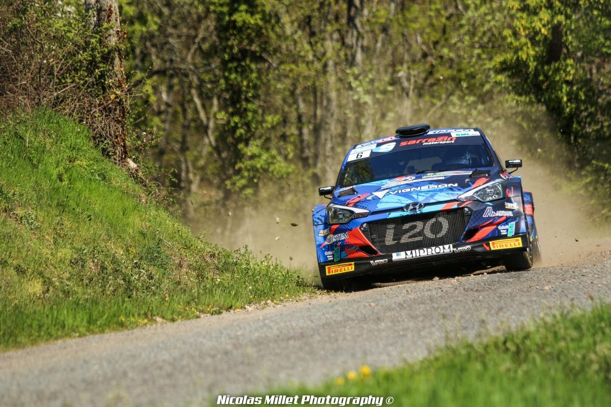 Rallye Lyon-Charbonnières-Rhône 2018 - Action - Quentin Giordano