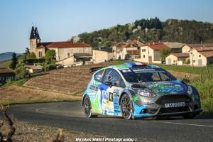 Rallye Lyon-Charbonnières-Rhône 2018 - Action - Jérémi Ancian
