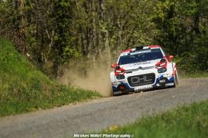 Rallye Lyon-Charbonnières-Rhône 2018 - Action - Yoann Bonato