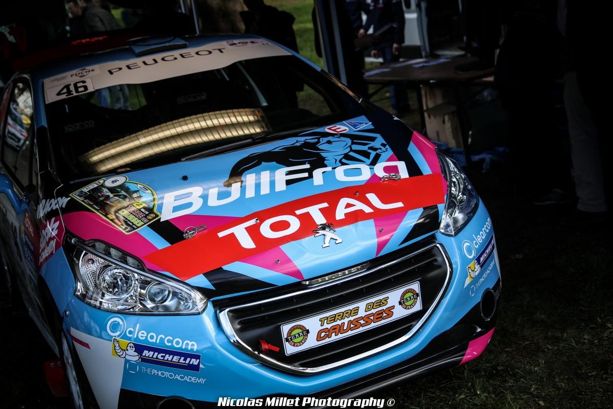 Rallye Terre des Causses 2018 - Ambiance - Clément Bully - BullFrog GP