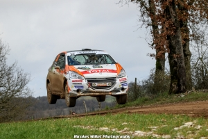Rallye Terre des Causses 2018 - Action - Quentin Ribaud