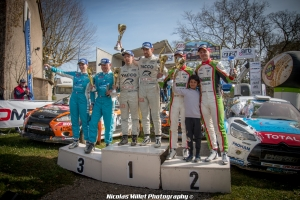 Rallye Terre des Causses 2018 - Ambiance - Podium Général