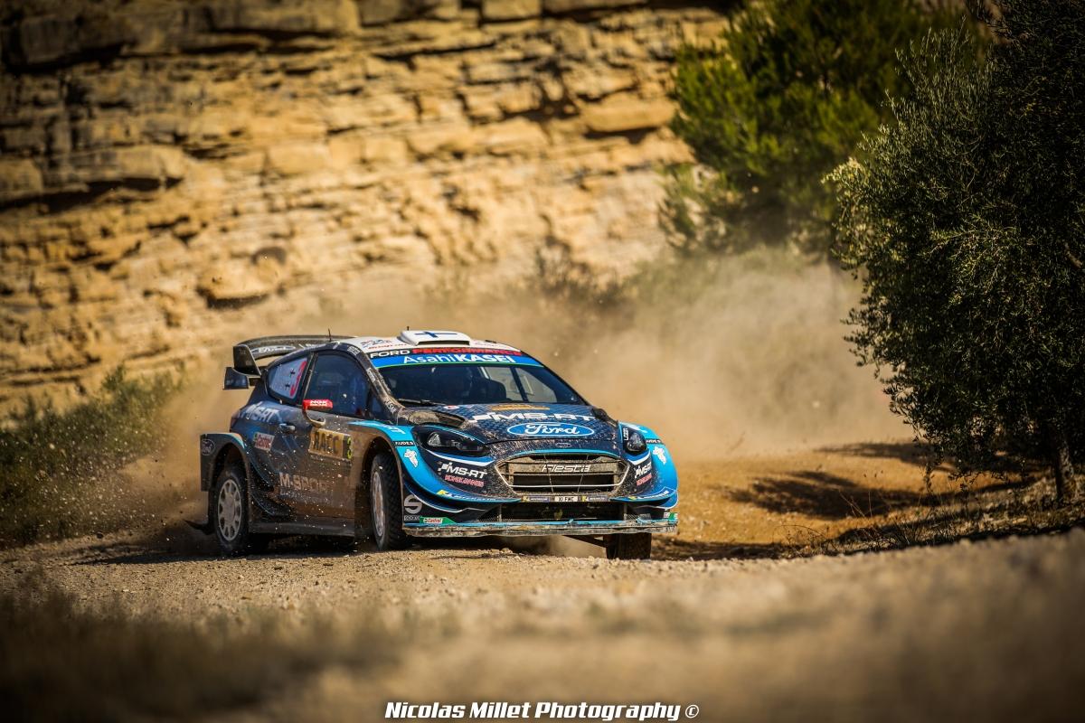 Elfyn Evans, WRC, Rallye, RACC Cataluyna, M-Sport, Fiesta WRC, 2019