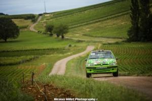 Mathieu Artzner, Vincent Girard, CFR2, Rallye, Vins-Macon, Peugeot, 106 F2000, 2019