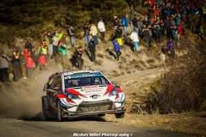 Ott Tanak, Martin Jarevoja, WRC, Rallye, Monte-Carlo, Toyota, 2019
