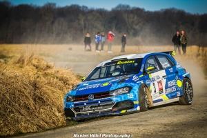 Quentin Gilbert, Christopher Gieu, Rallye, Routes du Nord, Volskwagen, Polo R5, 2019