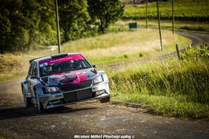 Laurent Lecki, Jeremy Lamur, CFR2, Rallye, Vins-Macon, Skoda, Fabia R5, 2019