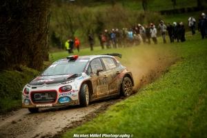 Yoann Bonato, Benjamin Boulloud, CFR, Rallye, Touquet, Citroen Racing, C3 R5, 2019