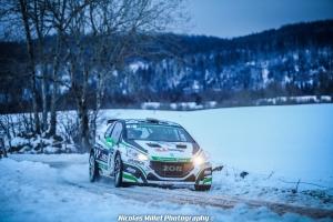 Marc Amourette, Anais Gauduin, Rallye, Ronde du Jura, Peugeot, 208 R5, 2019