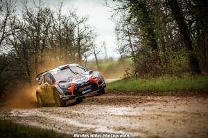 Thibault Durbec, JJ Renucci, Rallye, Terre des Causses, CFRT, Citroen Racing, DS3 WRC, 2019